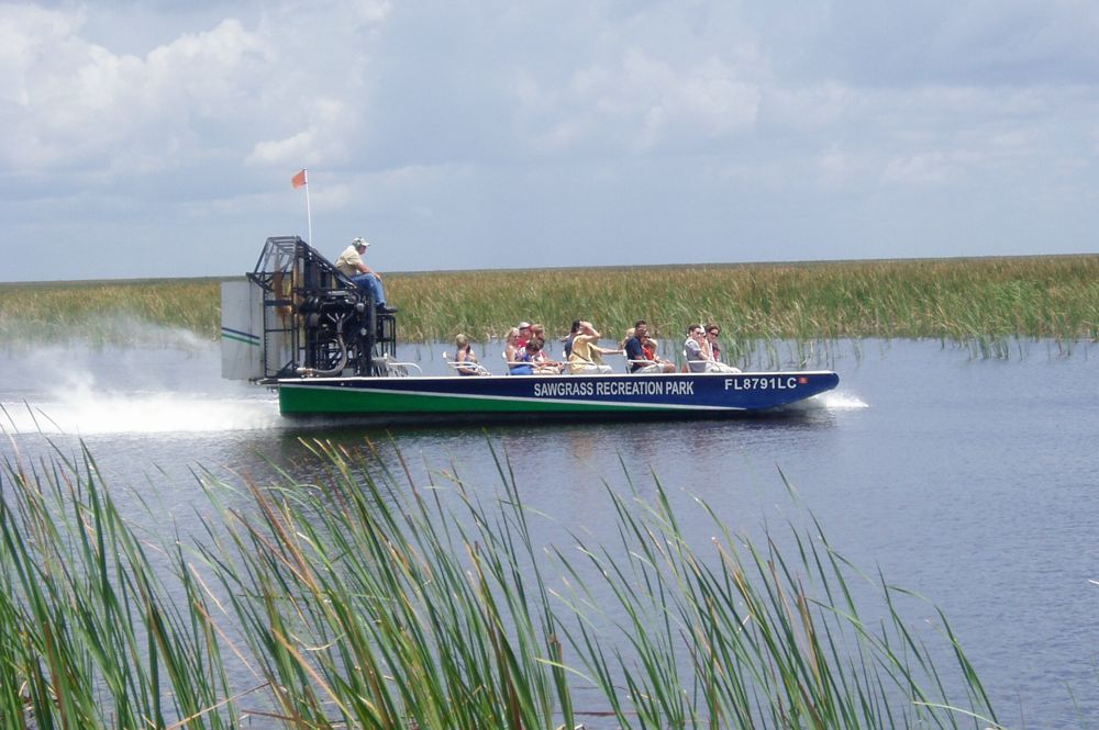 Sawgrass Nature Center Airboat